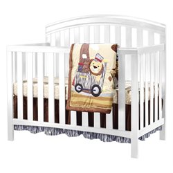 Sorelle Urban 4 in 1 Wood Crib in White