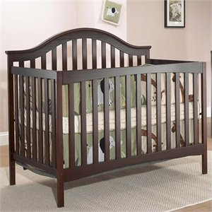 SB2 by Sorelle Lynn 4-in-1 Convertible Crib with Mini Rail