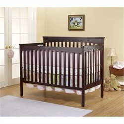 Sorelle Annie Petite Crib in Cherry