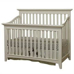 Sorelle Shaker Crib in French White