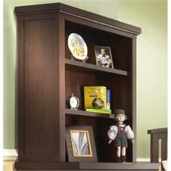 Sorelle Alex 3 Drawer Chest Hutch in Mocha Cafe