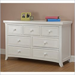 Sorelle Alex Double Dresser in White