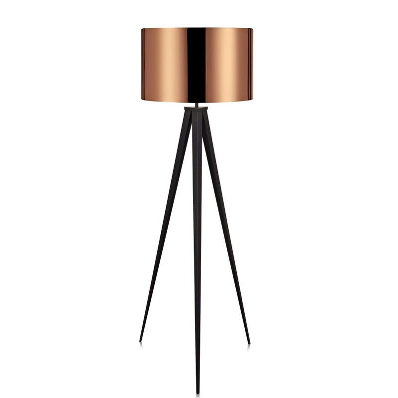 products and world floor tripod copper lamp a black interiors