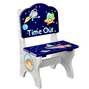 Fantasy Fields Outer Space Wooden Time Out Chair