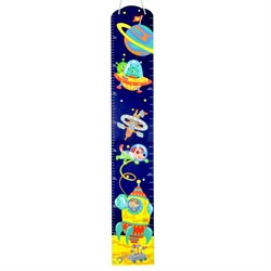 Fantasy Fields Outer Space Wooden Growth Chart