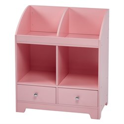 Teamson Kids Windsor Cubby Storage in Pink