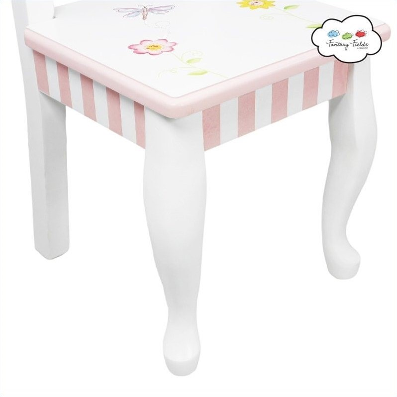 Fantasy Fields Hand Painted Princess and Frog Table and Chairs Set