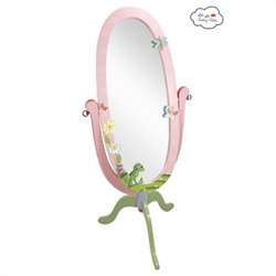 Fantasy Fields Hand Painted Magic Garden Standing Mirror