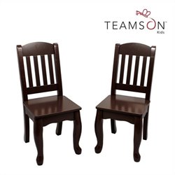 Teamson Kids Windsor Set of 2 Chairs in Expresso