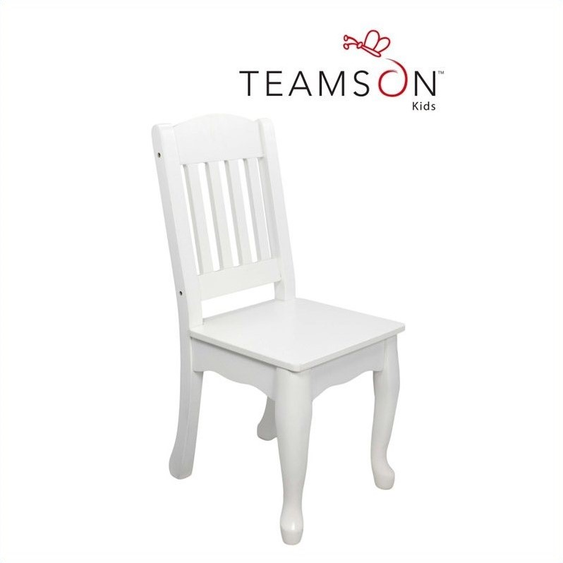 Teamson Kids Windsor Set of 2 Chairs in White