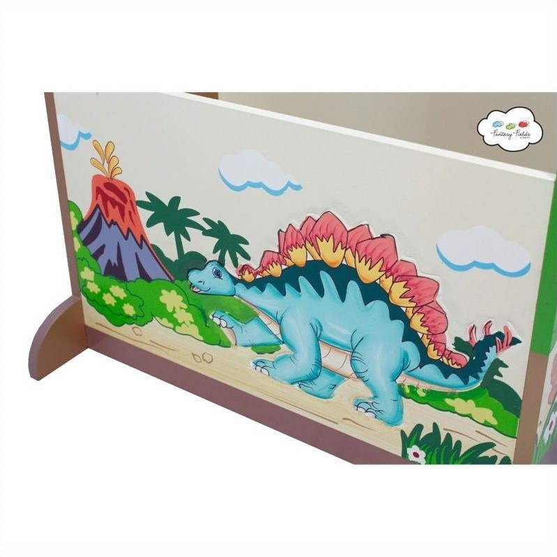 Fantasy Fields Hand Painted Dinosaur Kingdom Dress Up Valet Rack