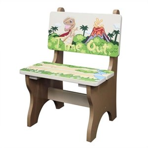 Fantasy Fields Hand Painted Dinosaur Kingdom Time Out Chair