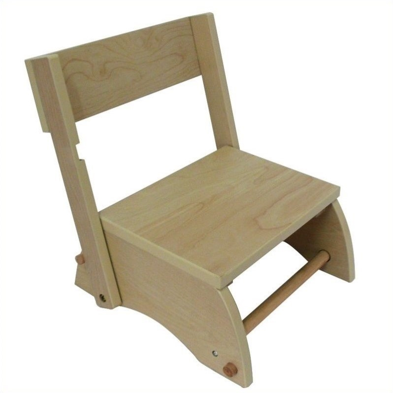 Teamson Kids Small Windsor Step Stool in Natural