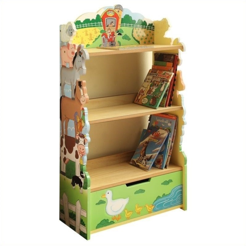 Fantasy Fields Happy Farm Animals Bookshelf