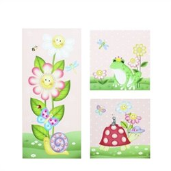 Fantasy Fields Magic Garden Canvas Wall Art Set