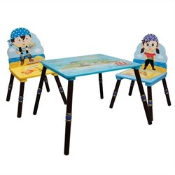 Fantasy Fields Pirates Island Table and 2 Chairs - Set B