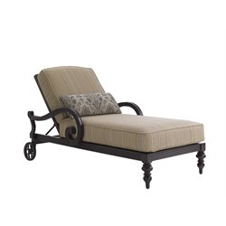 Tommy Bahama Black Sands Patio Chaise Lounge in Brown