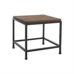 Tommy Bahama Ocean Club Pacifica Square Patio End Table in Sienna