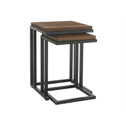 Tommy Bahama Ocean Club Pacifica Patio Nesting Tables in Sienna