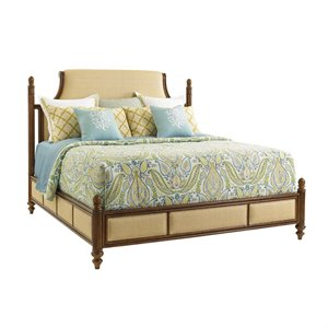 Tommy Bahama Bali Hai Orchid Bay Panel Bed in Brown
