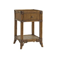 Tommy Bahama Bali Hai Del Sol Nightstand in Warm Brown