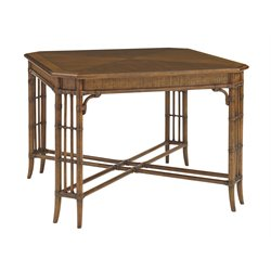 Tommy Bahama Bali Hai Tarpon Cove Game Table in Warm Brown