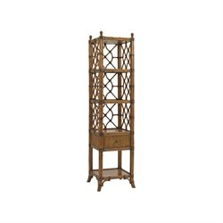 Tommy Bahama Bali Hai Atlantis Etagere in Warm Brown