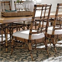 Tommy Bahama Twin Palms Seaview Dining Side Chair in Brown