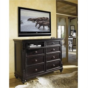 Tommy Bahama Home Kingstown Stony Point Dresser in Tamarind