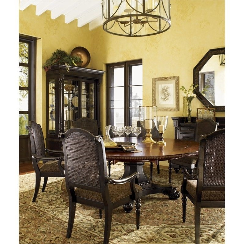 Tommy Bahama Home Kingstown Bonaire Round Formal Dining