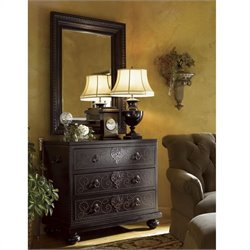 Tommy Bahama Home Kingstown Tortola Bachelor's Chest in Cassis Finish