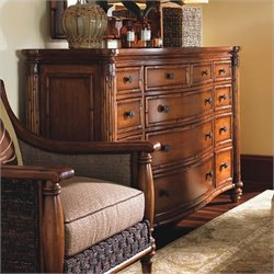 Tommy Bahama Home Island Estate Barbados Triple Dresser in Plantation