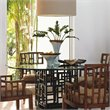 Tommy Bahama Home Ocean Club South Sea Rectangular Glass Dining Table