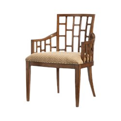 Tommy Bahama Home Ocean Club Lanai Arm Dining Chair - Ships Assembled