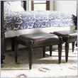 ADD TO YOUR SET: Tommy Bahama Home Royal Kahala Tidal Pool Bed Bench