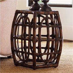 Tommy Bahama Home Royal Kahala Oval Reef Accent Table