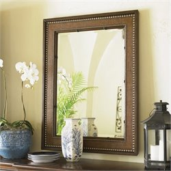 Tommy Bahama Home Landara Barons Cove Mirror in Rich Tobacco