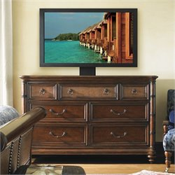 Tommy Bahama Home Landara Sailfish Point Dresser in Rich Tobacco