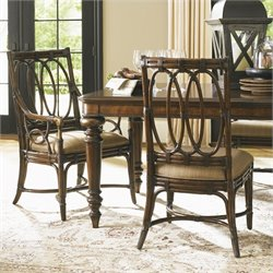 Tommy Bahama Home Landara Palmetto  Dining Chair in Rich Tobacco