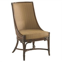 Tommy Bahama Home Landara Royal Palm  Dining Chair in Rich Tobacco