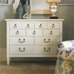Tommy Bahama Home Ivory Key Elbow Beach Dresser in White