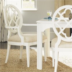 Tommy Bahama Home Ivory Key Mill Creek Side Chair in White