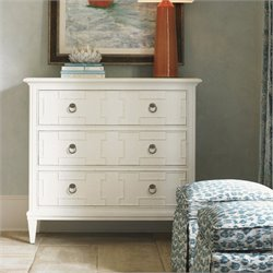 Tommy Bahama Home Ivory Key Somers Isle Hall Accent Chest in White