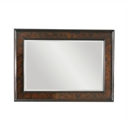 Tommy Bahama Island Traditions Somerton Landscape Mirror in Brown