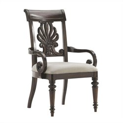 Tommy Bahama Island Traditions Chester Carved Arm Dining Chair (Pre-assembled)