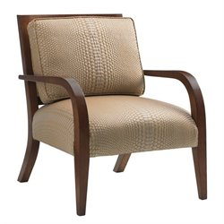 Tommy Bahama Island Fusion Apollo Fabric Chair in Beige