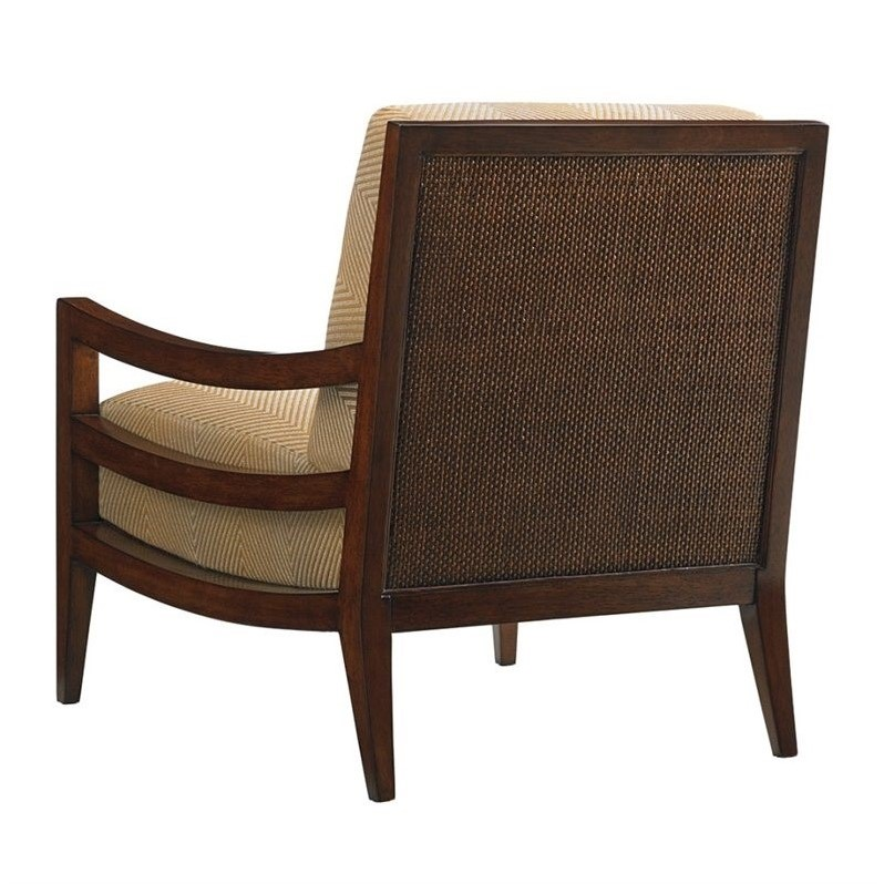 Tommy bahama island fusion singapore fabric chair in beige for Furniture singapore