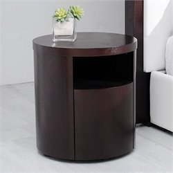Modloft Ludlow Nightstand in Wenge