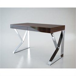 Modloft Houston Desk in Ebony Lacquer