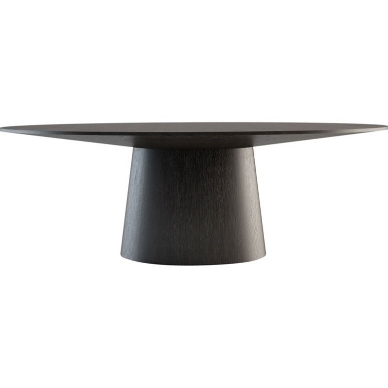 Modloft Sullivan Dining Table In Wenge Md510 Wen